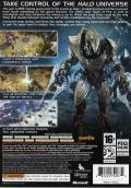 Halo Wars Xbox 360 Back Cover