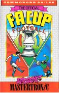 F.A. Cup Football Commodore 64 Front Cover