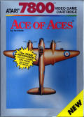 Ace of Aces Atari 7800 Front Cover
