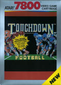 Touchdown Football Atari 7800 Front Cover