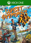 Sunset Overdrive Xbox One Front Cover