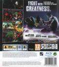 Marvel Vs. Capcom 3: Fate of Two Worlds PlayStation 3 Back Cover