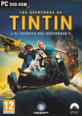 The Adventures of Tintin: The Game Windows Front Cover