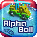 Alpha Ball iPad Front Cover