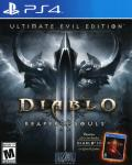Diablo III: Reaper of Souls - Ultimate Evil Edition PlayStation 4 Front Cover
