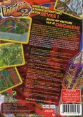RollerCoaster Tycoon 2 Windows Back Cover