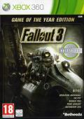 Fallout 3: Game of the Year Edition Xbox 360 Front Cover