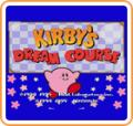 Kirby's Dream Course Wii Front Cover