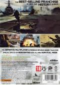 Call of Duty: MW3 Xbox 360 Back Cover