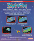 Zaxxon Coleco Adam Back Cover