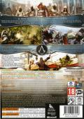 Assassin's Creed: Brotherhood Xbox 360 Back Cover