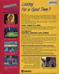 Leisure Suit Larry in the Land of the Lounge Lizards Amiga Back Cover