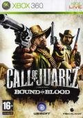 Call of Juarez: Bound in Blood Xbox 360 Front Cover