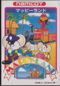 Mappy-Land NES Front Cover