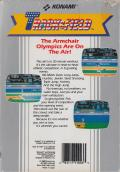 Track & Field NES Back Cover