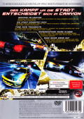 Need for Speed: Carbon PlayStation 2 Back Cover