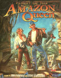 Flight of the Amazon Queen Amiga Front Cover