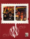 Indiana Jones and the Last Crusade / Indiana Jones and the Fate of Atlantis DOS Front Cover
