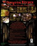 Dungeon Keeper DOS Back Cover