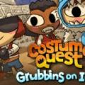Costume Quest: Grubbins on Ice PlayStation 3 Front Cover
