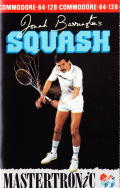 Jonah Barrington's Squash Commodore 64 Front Cover