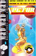 Vectorball Amstrad CPC Front Cover
