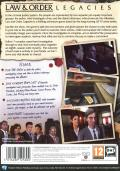 Law & Order: Legacies Windows Back Cover