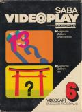 Videocart-8: Magic Numbers Channel F Front Cover