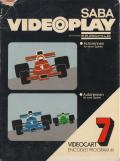 Videocart-9: Drag Strip Channel F Front Cover