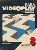 Videocart-10: Maze Channel F Front Cover