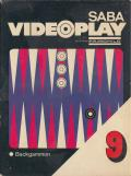 Videocart-11: Backgammon, Acey-Deucey Channel F Front Cover