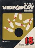 Videocart-21: Bowling  Channel F Front Cover