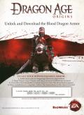 Dragon Age: Origins PlayStation 3 Other DLC Code #2 - Front
