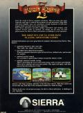 King's Quest II: Romancing the Throne PC Booter Back Cover