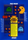 Pac-Man PC Booter Back Cover
