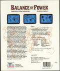 Balance of Power DOS Back Cover