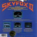 Skyfox II: The Cygnus Conflict DOS Back Cover