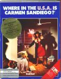 Where in the U.S.A. is Carmen Sandiego? DOS Front Cover