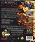 Earth 2140 DOS Back Cover