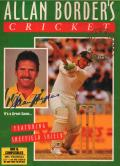 Allan Border's Cricket DOS Front Cover