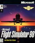 Microsoft Flight Simulator 98 Windows Front Cover