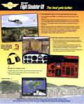 Microsoft Flight Simulator 98 Windows Inside Cover Left Flap