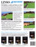 Links: The Challenge of Golf DOS Back Cover