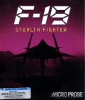 F-19 Stealth Fighter DOS Front Cover