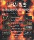 I Have No Mouth, and I Must Scream DOS Back Cover