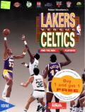 Lakers versus Celtics and the NBA Playoffs DOS Front Cover