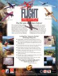 Flight Unlimited DOS Back Cover