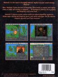 Warlords II DOS Back Cover