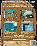 SimCity DOS Back Cover