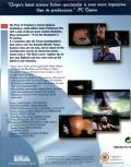 Wing Commander IV: The Price of Freedom DOS Back Cover Slide-in wrapping